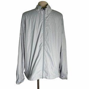 CALLAWAY Gray Lightweight Full Zip Golf Jacket L